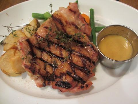 日南鶏のグリル ハニーマスタードソース